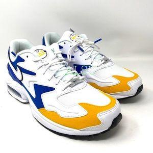 Nike Air Max 2 Light PRM Leather White Men Sneaker